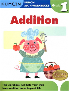 Addition Grade 1 Workbook