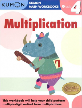 Multiplication Grade 4 Workbook
