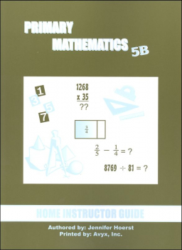 Primary Math US 5B Home Instructor Guide