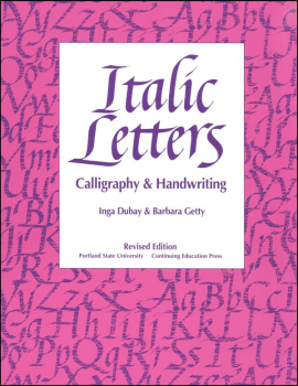 Italic Letters: Calligraphy & Handwriting