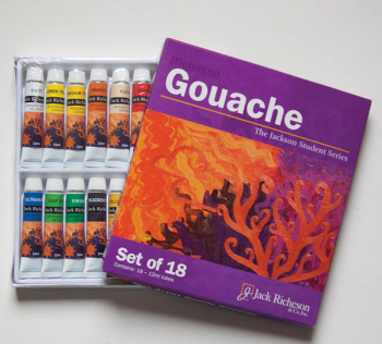 Richeson Gouache Paint Set (Set of 18)