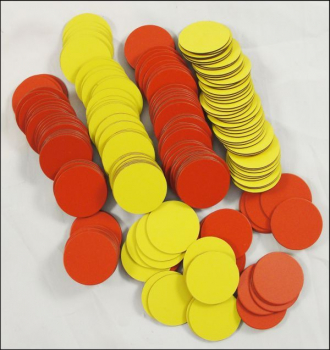 Magnetic Two Color Counters (Package of 200)