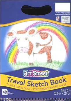 Pacon Travel Sketch Book