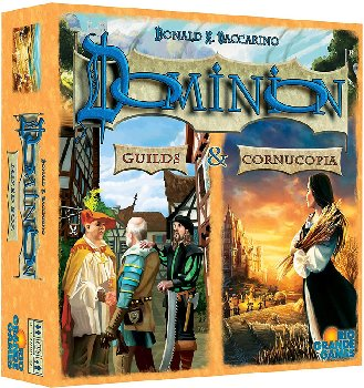 Dominion: Cornucopia & Guilds Expansions