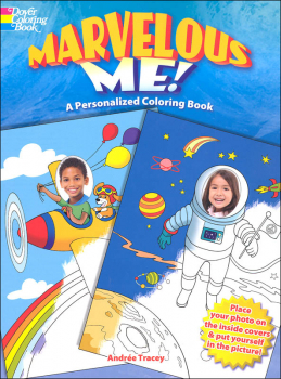 Marvelous Me! A Personalized Coloring Book