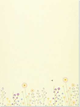 Sparkly Garden Stationery Set