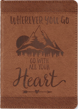 Wherever You Go, Go with All Your Heart Artisan Journal