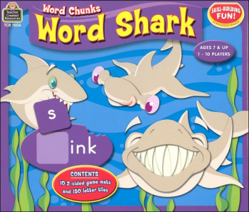 Word Shark Word Chunks Games