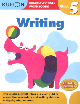 Kumon Writing Workbook Grade 5