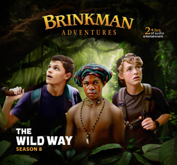 Brinkman Adventures Season 8 CDs - Wild Way