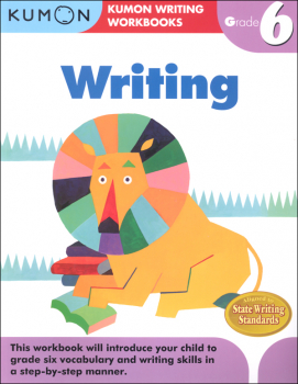 Kumon Writing Workbook Grade 6