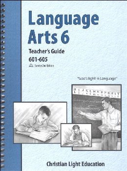 Language Arts LightUnit 601-605 Teacher's Guide Sunrise 2nd Edition