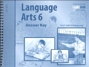 Language Arts LightUnit 601-610 Answer Key Sunrise 2nd Edition