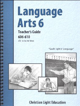 Language Arts LightUnit 606-610 Teacher's Guide Sunrise 2nd Edition