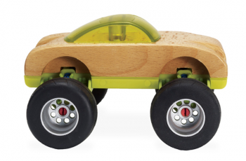 Monster Wheels 1.0 Vehicle Accessory Kit (11 Pieces)