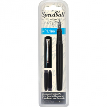 Speedball Calligraphy Fountain Pen - 1.1 mm Nib