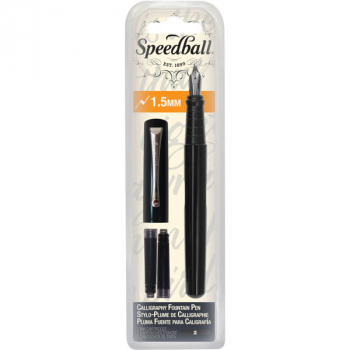 Speedball Calligraphy Fountain Pen - 1.5 mm Nib