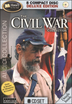 Civil War Collection 8 Audio CDs