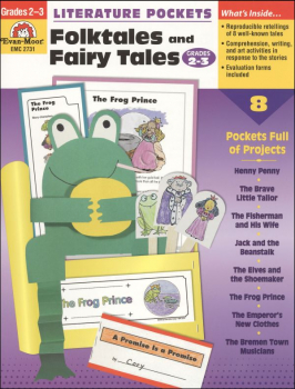 Literature Pockets - Folktales & Fairy Tales Gr 2-3