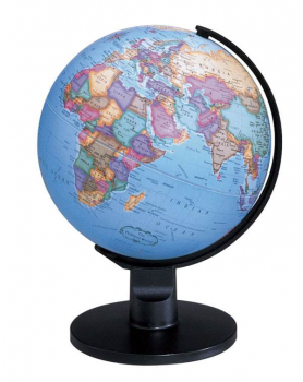 "Trekker 6"" Globe (Blue) - English"