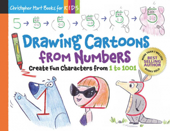 Drawing Cartoons From Numbers (Drawing with Christopher Hart)