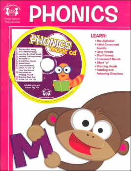 Phonics Workbook with Music CD