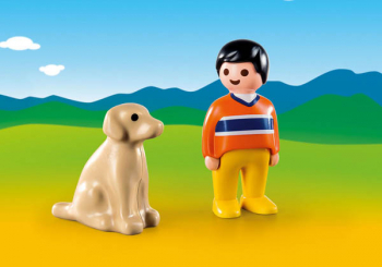 Man with Dog (Playmobil 1-2-3)