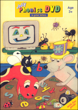 Jolly Phonics DVD w/ Print Letters