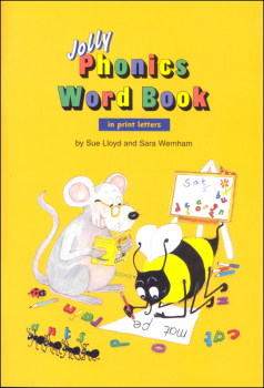 Phonics Word Book w/ Print Letters