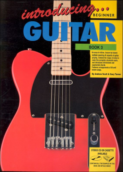 Introducing Guitar Book 3 With Online Video & Audio