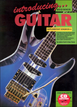 Introducing Guitar Supplemental Songbook A With Online Video & Audio