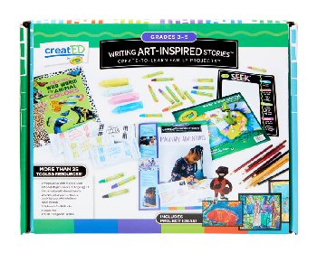 Writing Art-Inspired Stories Kit: Grades 3-5
