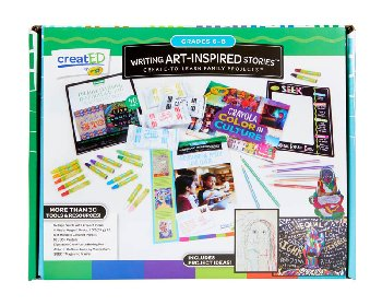 Writing Art-Inspired Stories Kit: Grades 6-8