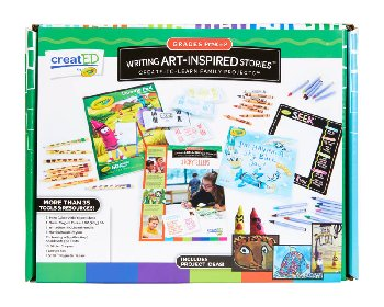 Writing Art-Inspired Stories Kit: Grades K-2