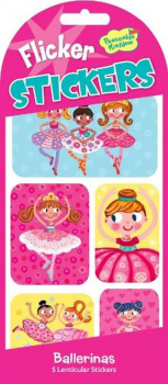 Ballerinas Flicker Stickers