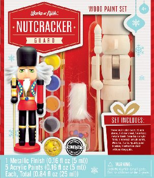 Nutcracker Guardsman Wood Painting Kit