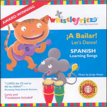 A Bailar! (Let's Dance!) Spanish Learning Songs CD