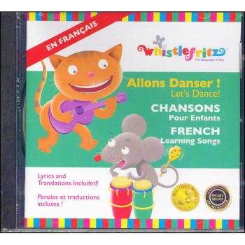 Allons Danser! (Let's Dance) French Learning Songs CD