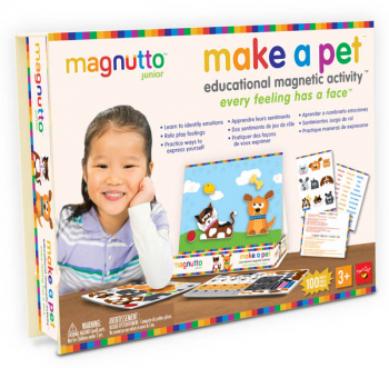 Magnutto - Make a Pet Educational Magnetic Activity