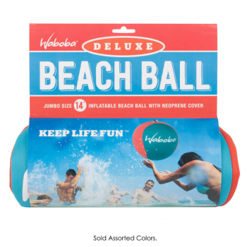 Deluxe Beach Ball (Assorted Colors)