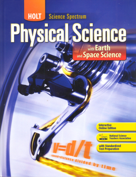 Holt Physical Science with Earth and Space Science