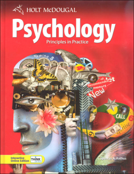 Holt Psychology: Principles in Practice Homeschool Package