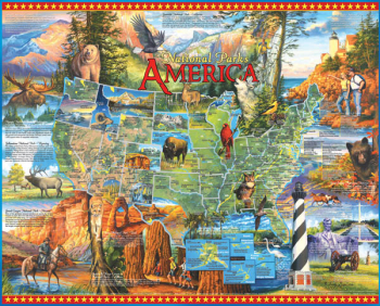 National Parks Puzzle (1000 piece)