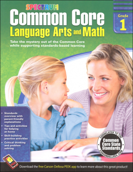 Spectrum Common Core Language Arts and Math 1