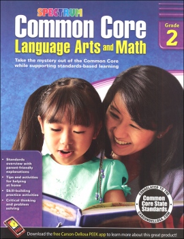 Spectrum Common Core Language Arts and Math 2