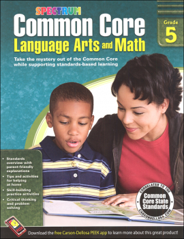 Spectrum Common Core Language Arts and Math 5