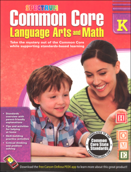 Spectrum Common Core Language Arts and Math K