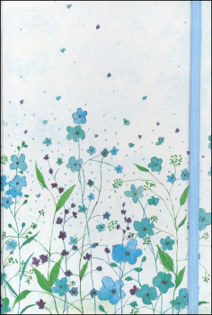 Blue Flowers Journal (Small Format Journal)