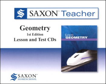 Saxon Teacher for Geometry CD-ROMs