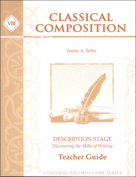 Classical Composition VIII, Description Stage, Teacher Guide